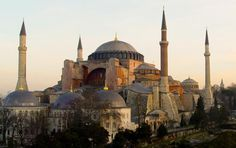 Hagia Sophia, Istanbul, Turkey - I would love to see istanbul!