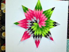 Lone Star Spiral --Attic Window Quilt Shop class