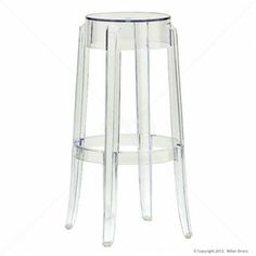 Ghost Stool Replica – – Clear - Set of 2 - Milan Direct New Furniture, Online Furniture, Kitchen Furniture, Kitchen Stools, Bar Stools, Baby Bean Bag Chair, Eames Chair Replica, Cheap Chairs, Dining Chairs