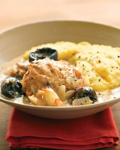 Braised Chicken with Dried Plums