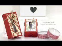 Tiny Tealight Box Tutorial | Stampin' Up! UK Demonstrator Pootles!