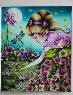 The Princess and the frog-Sommarnatt by Hanna Karlzon