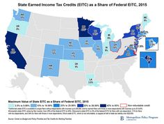 A growing list of states have adopted or expanded versions of the federal #EITC http://brook.gs/1JRL8HD