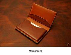 Marronnier - business-card wallet-SR