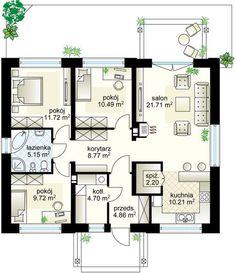 House Layout Plans, Modern House Plans, House Layouts, Elevator Design, House Elevation, Design Case, Plan Design, New Room, Planer