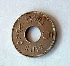 Circulated Uncertified World Coins Rare British Coins, Israel Palestine, Typography, Lettering, World Coins, Revolution, Ebay, Money, Type