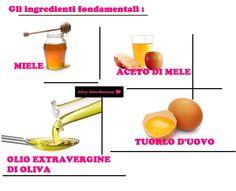 Silvy NewMakeup by Silvia BM: Capelli piu' sani e belli con 3 Ricette FAI-DA-TE