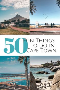 Looking for fun things to do in Cape Town, South Africa? Favorites activities, adventures, culinary delights & cultural highlights from a former local. Romantic Things To Do, Fun Things, Cape Town Holidays, Boulder Beach, Outdoor Cinema, Holiday Places, Table Mountain, Paragliding, Africa Travel