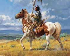 Martin Grelle western artists paintings | Native American Art by Martin Grelle - Desktop Wallpaper