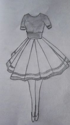 Fashion sketches 293648838205729374 - Super Ideas Disney Art Sketches Draw Fashion Illustrations Source by mariclothilde Dress Design Drawing, Girl Drawing Sketches, Dress Design Sketches, Cool Art Drawings, Fashion Design Drawings, Dress Drawing, Pencil Art Drawings, Easy Drawings, Drawing Tips