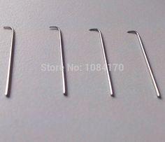 6 pcs/ lot  Wig Needle Pin Needle Tip 1-2, 2-3,3-4 size  ventilating wig needle tip