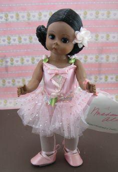 Vintage Madame Alexander African American Ballerina Doll. $32.00, via Etsy.