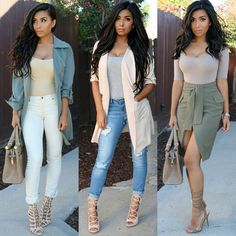 """""""Neutrals this week... which one is your fav? """""""