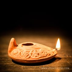 Biblical Era Oil Lamp | Vintage Lamps | Pinterest | Oil lamps ...