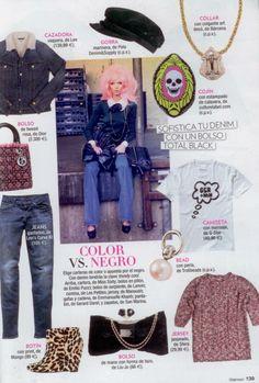 Italian Glamour featured Brennan and Burch Skull frame 3D cushion.