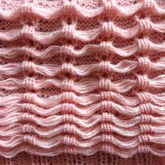 Knit Swatches by Ellen van den Andel
