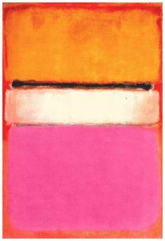 Mark Rothko - White Center (1950)