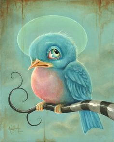 Bluebird.....Kelly Haigh. Visit www.facebook.com/imaginarygames for more inspiration