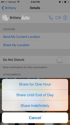iphone location sharing app