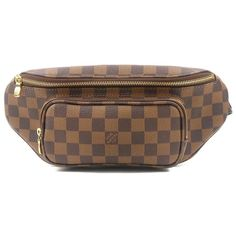 LOUIS VUITTON Damier Bum Bag Melville Waist Body Bag N51172 Used F/S