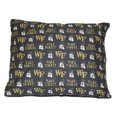 Wake Forest University 30x40 inch Pet Pillow Bed