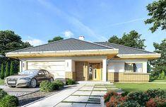 Projekt domu Doskonały 2 B 140,7 m2 - koszt budowy - EXTRADOM Home Goods, House Plans, Garage Doors, How To Plan, Mansions, House Styles, Outdoor Decor, Home Decor, Plot Ideas