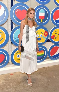 Olivia Palermo attends the opening party and celebration of LOVE: From Cave to Keyboard, Imagined by Pepsi at 433 Broadway on July 14, 2016 in New York City.