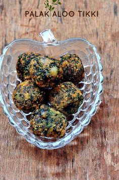 Palak Aloo Tikki - Aloo Palak Tikki - Quick and Easy Indian Snacks