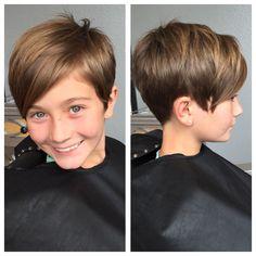 Kids pixie haircut More
