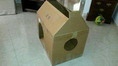 Cardboard house 1