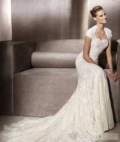 Awesome Trumpet/Mermaid Sleeveless Floor-Length Sweetheart Wedding Dresses