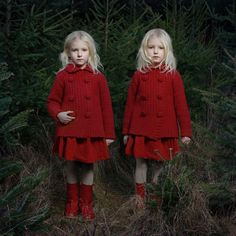 "From the series, ""Picturing the Dark Side of Twins"" by Tereza Vlckova - Two No. 6."