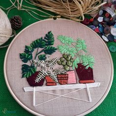 Cushion Embroidery, Pulley, Diy And Crafts, Cross Stitch, Cushions, Room Decor, Knitting, Embroidery, Crossstitch