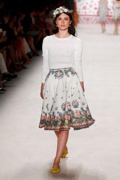 Sommer-Röcke Sommermode 2016 Lena Hoschek Fashion Week Berlin Juli 2015 - 6