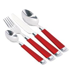 Premier Housewares Red Paula Cutlery Set – 0922249 – Add a touch of warmth and luxury to your home with the red collection of homeware and cookware from Premier Housewares, a leading supplier and distributor to the retail trade of kitchenware, tabletop & bathroom accessories, soft furnishings, decorative accessories, lighting and occasional furniture. Purchase from a host of online stores and independent local retailers and please visit http://www.premierhousewares.co.uk for trade enquiries.