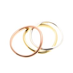 Wave stacking rings in 14kt gold or rose gold or sterling silver $40 www.toriandtaz.com