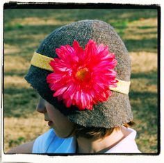 Cloche Hat sewing tutorial and pattern, kid size