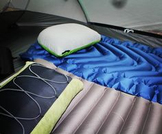 Love my new @Klymit sleeping pad (in blue) - Lightweight, folds and rolls up to nicely fit in your pack and so comfortable! #GypsyWonders