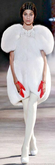 Ulyana Sergeenko Haute Couture Fall Winter 2013-14 collection…