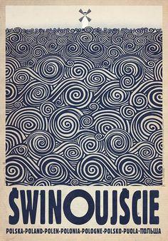 Swinoujscie, Polish Promotion Poster by Ryszard Kaja