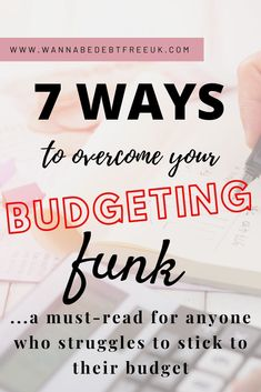 If you're struggling to stick to your budget, these budgeting tips will really help! I've stuck to a budget for three years to pay off debt and build savings and these budget tips are THE KEY to getting through the tough times. Discover how you can overcome your buget challenges with this post. Budgeting Tools, Budgeting Worksheets, Life On A Budget, Living On A Budget, Priorities List, Get Out Of Debt, Debt Payoff, Tough Times, Debt Free