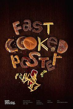 #Designing #Food #Typography #Inspiration #Creative