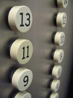 Retro Elevator Buttons