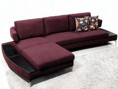 15 best images about Purple Sectional Sofa on Pinterest   Modern ...