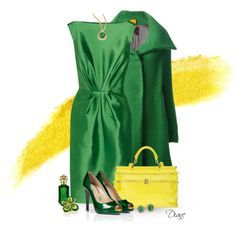 Peep of Yellow, created by diane-hansen on Polyvore