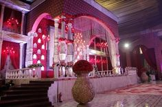 Royal Indian Wedding, Saree Trends, New Theme, Wedding Designs, Backdrops, Wedding Venues, Wedding Decorations, Gallery