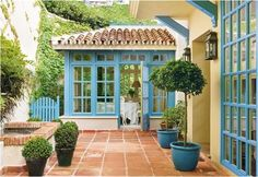 I love Spanish style when it has a cottage-y flair (more European Spanish than Southwest Spanish).