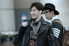 Jackson at the airport