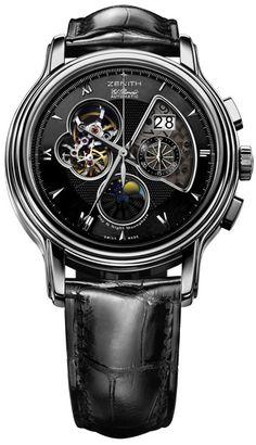 Zenith Chronomaster XXT Open Grande Date Moon & Sunphase Mens Watch
