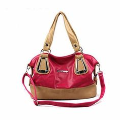 f782e543288d Order in bulk and get the best quality of pink and cream leather handbags  at affordable